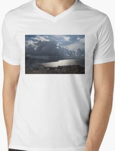 Shadows of Clouds  Mens V-Neck T-Shirt