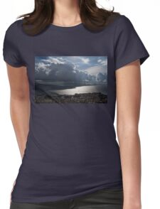 Shadows of Clouds  Womens Fitted T-Shirt