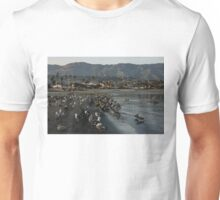 Santa Barbara Beach Crowd  Unisex T-Shirt