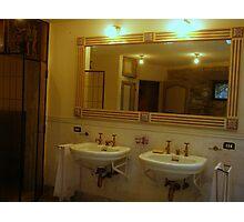 Sink & Sink Photographic Print