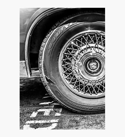 Cadillac  Photographic Print