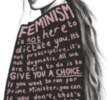 Emma Watson- Feminism Sticker