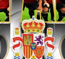 spain! champions Sticker