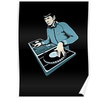 Cool Spock DJ party Poster