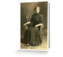 Mrs. Laura Menew Greeting Card