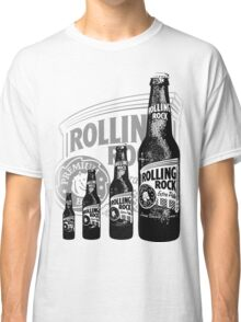 Rolling Rocks in a Row Classic T-Shirt