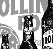 Rolling Rocks in a Row Sticker