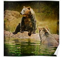 ...and Grizzley Bears..Oh My! Poster