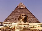 The famous Sphinx by Nancy Richard