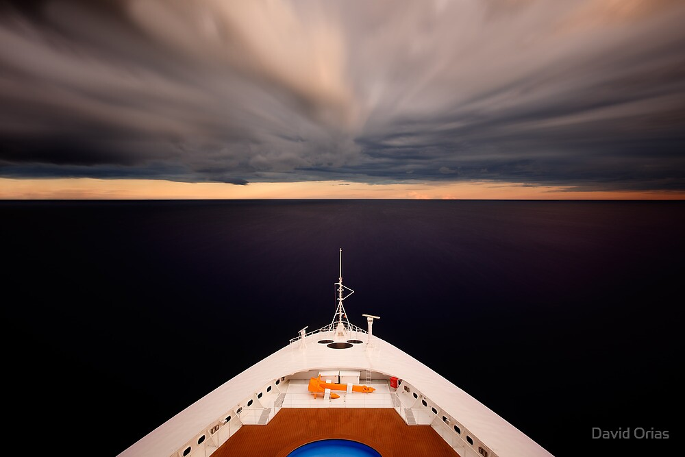 Heading to the Horizon by David Orias