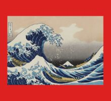 'The Great Wave Off Kanagawa' by Katsushika Hokusai (Reproduction) Baby Tee