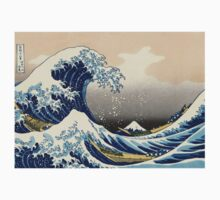 'The Great Wave Off Kanagawa' by Katsushika Hokusai (Reproduction) Kids Clothes