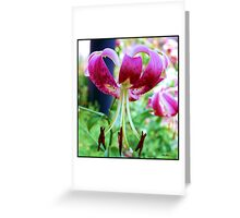 Lily # 10 Greeting Card