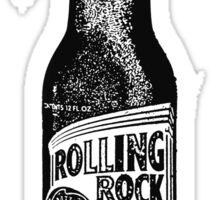 Rolling Rock in Black & White Sticker