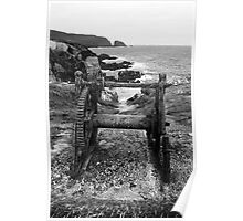 Weathered Winch Poster