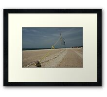 Anyone for a game? Framed Print