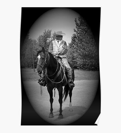 A Real Cowboy Poster