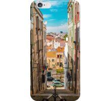 Alley in Lisbon iPhone Case/Skin