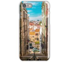 Alley in Lisbon iPhone Case/Skin