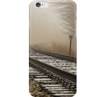 Foggy day in the woods....it won't be long until I'm coming home  iPhone Case/Skin