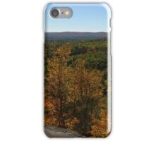 The Scenic Overlook - Algonquin in the Fall iPhone Case/Skin