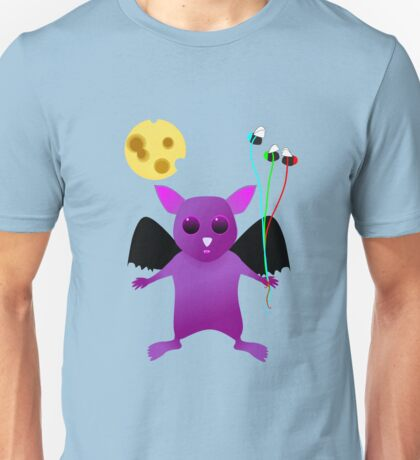 Flying Batty Unisex T-Shirt