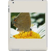 garden visitor iPad Case/Skin