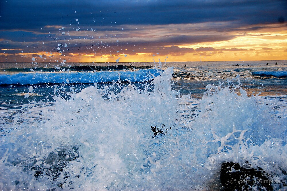 SUNRISE SPLASH by Scott  d'Almeida