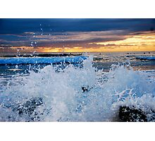 SUNRISE SPLASH Photographic Print