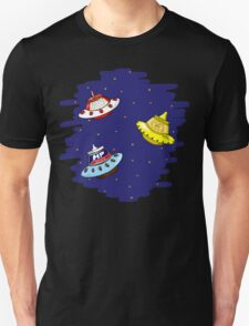 Flying Sauces Unisex T-Shirt