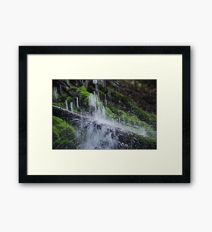 water electricity Framed Print