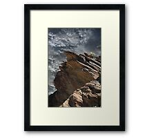 Lonely at the Top Framed Print