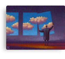 The Sky Collector Canvas Print