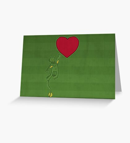 The Love of Cthulhu Greeting Card