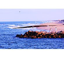 at the Virginia beach Photographic Print