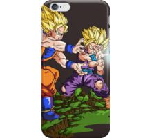 Goku and Gohan iPhone Case/Skin