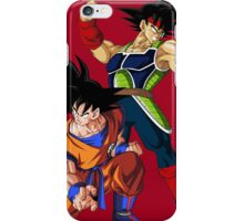 Goku and Bardock Father iPhone Case/Skin