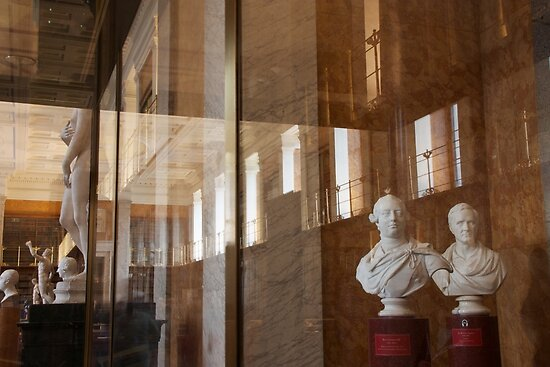 The Enlightenment Room at The British Museum by Sparklerpix