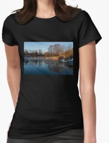 Still and Early - Icy Reflections With a Touch of Snow Womens Fitted T-Shirt