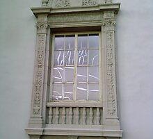 Window with Crackling by deedeeoriginals