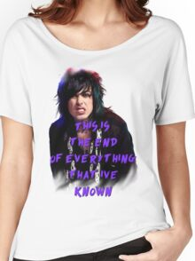 Ronnie Radke - This is the end Women's Relaxed Fit T-Shirt