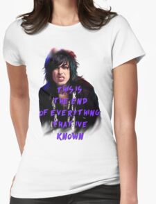 Ronnie Radke - This is the end Womens Fitted T-Shirt