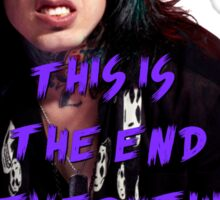 Ronnie Radke - This is the end Sticker