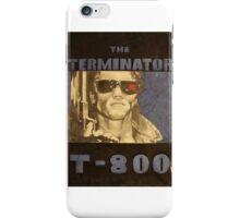 THE TERMINATOR - LARGE FORMAT  iPhone Case/Skin