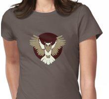 Owl Legion Guild Emblem Womens Fitted T-Shirt