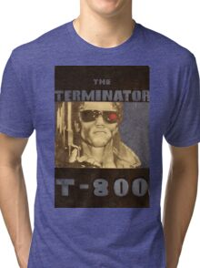 THE TERMINATOR - LARGE FORMAT  Tri-blend T-Shirt