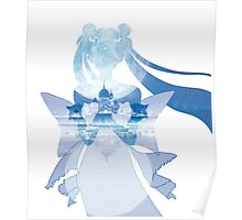 Princess Serenity - Blue Silver Millenium Poster