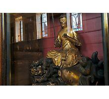 Monju, the Bodhisatta of wisdom Photographic Print