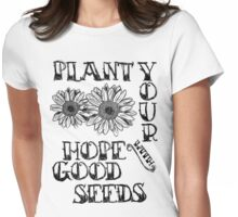Thistle and Weeds  Womens Fitted T-Shirt
