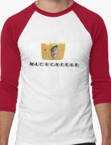 Mac (DeMarco) 'n' Cheese Men's Baseball ¾ T-Shirt